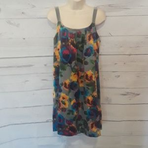 [ OLD NAVY ] MULTI COLOR SHEATH DRESS SZ M